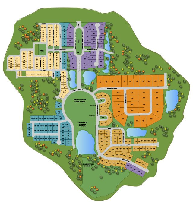 Oakmont Sitemap