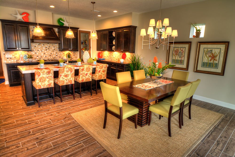 Builder Spotlight: ICI Homes - marabella dining and kitchen