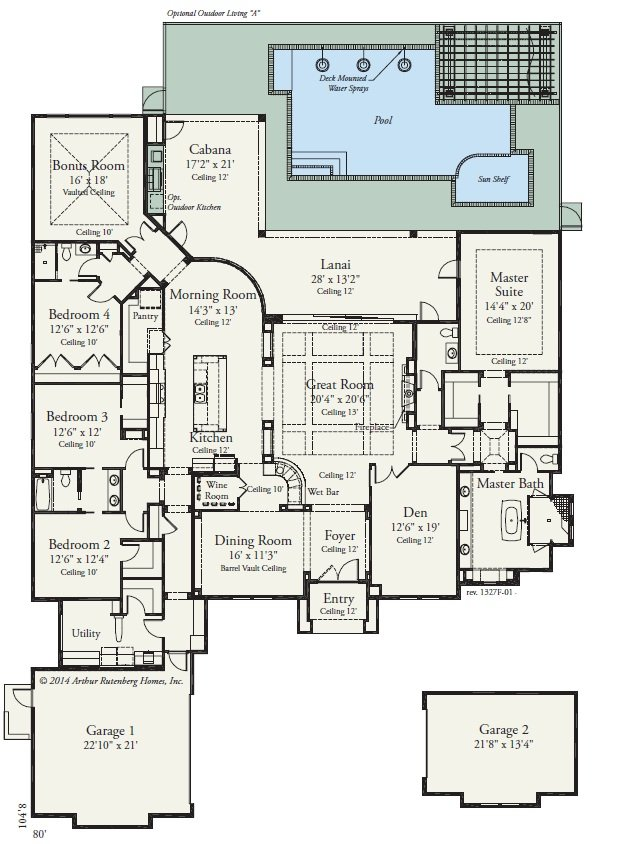 Kensington model spotlight oakmont for Vice president house floor plan
