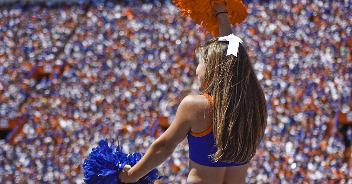 UF Cheerleader