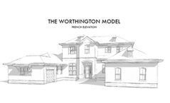 The Worthington French Elevation