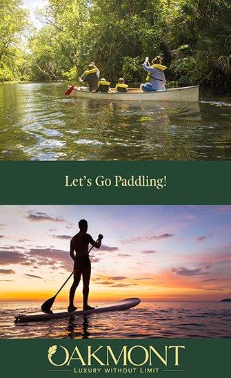 Let's Go Paddling: Watery Options for Oakmont Residents