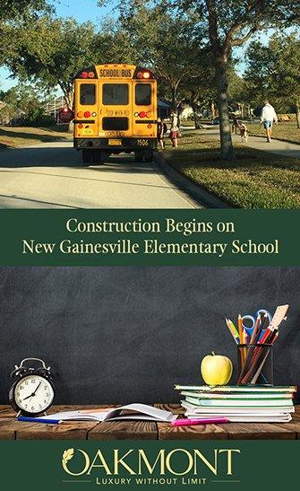 Construction Begins on New Gainesville Elementary School Near Oakmont