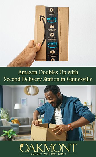 New Amazon Delivery Station in Gainesville