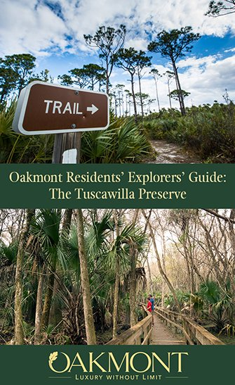 Oakmont Residents Explorers Guide The Tuscawilla Preserve