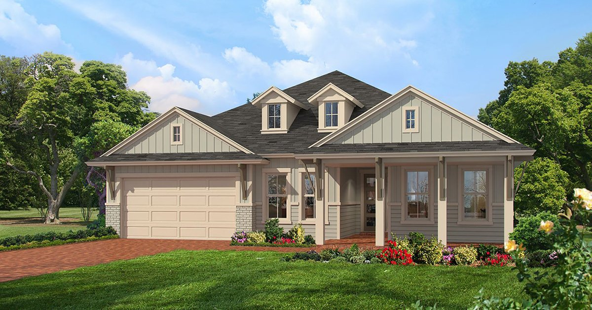 Inspiration Alert: 3 New ICI Homes Models at Oakmont - arden farmhouse modern fb
