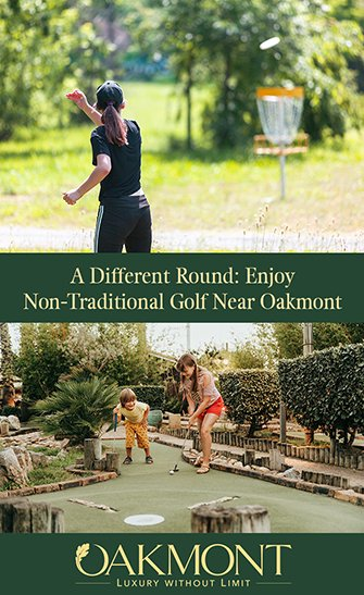 A Different Round Enjoy Non-Traditional Golf Near Oakmont